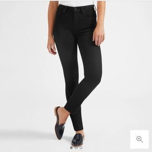 Everlane high rise skinny jeans, regular 26